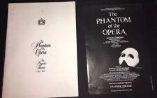 Original THE PHANTOM OF THE OPERA Broadway Souvenir Program NY 1988