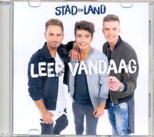 STAD EN LAND - Leef vandaag 1TR DUTCH ACETATE PROMO CD 2016