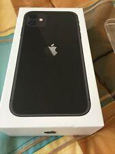 Apple iPhone 11 64GB ITALIA BLACK NERO LTE NUOVO Originale Smartphone iOS 13