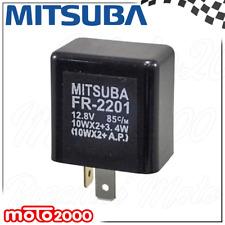 INTERMITTENZA ELETTRONICA MITSUBA 12V 10WX2+3,4W C.C 2 FASTON MEDI CON SUPPORTO
