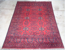 Turkman Afghan Carpet Persian Handmade knotted Rug Morocco indian 156x196 cm