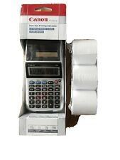 Canon Palm Printer P1-DH V Business & Tax Calculator 12 Digit Included 3 Rolls P