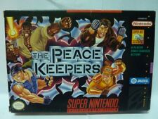 Rival Turf 3 The Peace Keepers Super Nes Complete