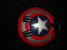 Hasbro Marvel Avengers Captain America Nerf Shield Blaster Dart Gun Rare Cosplay