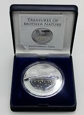 FIJI 2012 10 DOLLAR Treasures of Mother Nature ORO TIGRE SOUTH AFRICA MONEDA FDC