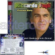 "RICCARDO FOGLI I POOH ""PICCOLA KATY - LIVE"" CD 2008 NEW"