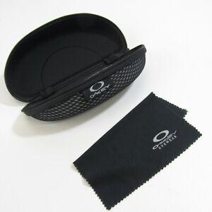 Oakley Sunglasses Flak Jacket Softshell Case Black Protective Zipper Carrier