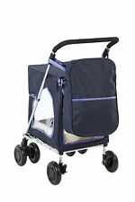 Sholley Petmobil in Navy Blue with Matching Bag