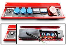 Frontbedienung Generator Aggregat Stromerzeuger Kraftech Swisskraft E-START