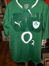Ireland rugby shirt  Donnacha Ryan Signed GPS pocket (not match worn)