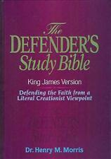 KJV - Defender's Study Bible by Dr. Henry Morris, Ph.D., Thomas Nelson, Good Boo
