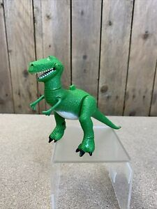 Disney's Toy Story Glow In The Dark Rex Action Figure - Thinkway Toys