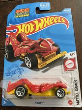 2021 Hot Wheels Zombot' Rock'Em Sock'Em Robots New Mattel Games 46/250