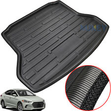For Hyundai Elantra Avante 2017 2018 Cargo Boot Liner Rear Trunk Mat Floor Tray
