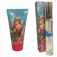 Escada Turquoise Summer 7.4ml EDT Purse Spray + 50ml Perfumed Body Lotion