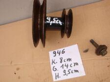 Rasentraktor Aufsitzmäher MTD Keilriemenscheibe Motor Getriebe Mähwerk (946 )