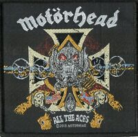 Motorhead Patch All the Aces Woven Patch