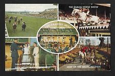 C1960 Multiviews of Irish horse events - Hospital sweepstakes, Sweeps Derby