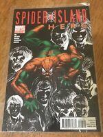 SPIDER ISLAND HERC COMIC BOOK # 7 Marvel 2011