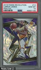 2019 Panini Revolution Fractal #14 LeBron James Lakers PSA 10 GEM MINT