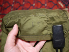 VINTAGE OD Green Fuzzy US IDEAL Canteen Water Bottle Bag US Army Military