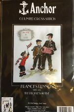 Anchor Counted Cross Stitch Quickies Kit - FL116 - Father And Sons