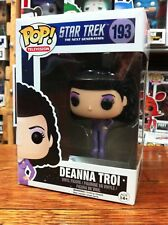 POP TV Star Trek The Next Generation Deanna Troi 193 Funko Pop Vinyl US Excl