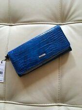 BCBG Generation Zahara Flap Wallet Electric Blue NWT