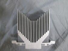 "LOT of 10 Aluminum Heatsink Heat Sink Cooling Radiator 4 1/2"" X 4"" X 2"""