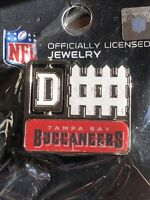 New & Sealed NFL Tampa Bay Buccaneers D-Fence Pin WinCraft Collections