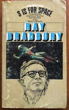 S Is for Space, by Ray Bradbuy, vintage paperback 1966