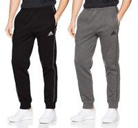 Men's Adidas Core Joggers Tracksuit Jogging Bottoms Track Sweat Pants Grey Black