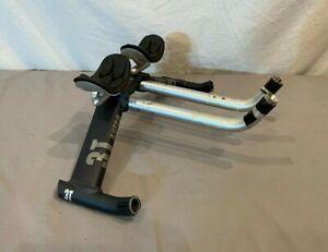 3T Ahero 44cm T6 Aluminum Time Trial Aero Handlebar 25.4mm Clamp Diameter