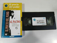 Der Preis del Power Brian de Palma Al Pacino VHS Packung Karton Spanisch Welt