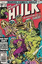 Incredible Hulk #213. VF/NM. 1977
