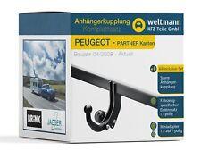 Peugeot Partner Tepee Boîtier Entiers Attelage de Remorque + Spezif. 13 Pôle