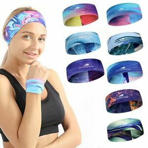 Yoga Headband Sport Women Running Hair Band Turban Fitness Antiperspirant Band