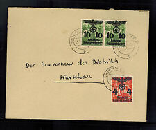 1941 Skierniew Poland Germany GG cover to Governor Warsaw