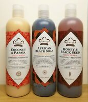 Nubian Heritage Scented 13oz Body Wash. Skin Beauty Bath Shower Unisex Makeup