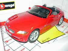 Bburago 33334046R, BMW Z4 Cabrio, rot,  1/18, NEU & in OVP
