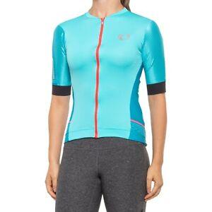 Pearl Izumi Women's Elite Pursuit Speed Jersey Size S Aqua/Blue Diffuse