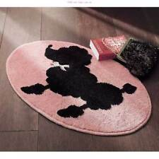 Stylish Poodle pink printed canvas Latch Hook Rug Kit - Rug Making