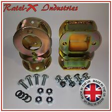 "Land Rover Discovery 2 50mm / 2"" inch lift Block Spacer Kit Front & Rear"