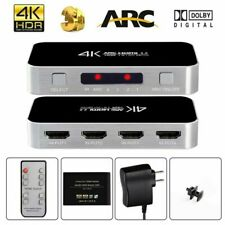 Avedio Links 4 Port HDMI Switch with Audio Out