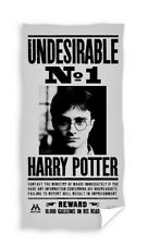 Harry Potter Undesiderable Nr 1 Wanted Strandtuch Spaggia 70x140cm Original