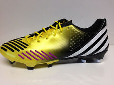 Adidas Predator LZ TRX FG, Vivid Yellow / Pink / Run White 43 1/3  Fußballschuh