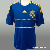 UKRAINE Adidas Away Shirt 2012/13 NEW S,M,L,XL,XXL BNWT Jersey 12/13 Football