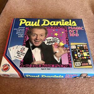 Paul Daniels Magic Set 100 Complete Boxed Instruction Vintage 1986 Peterpan