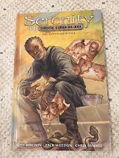 1St Edition Serenity The Shepherd's Tale Vol 3 Zack & Joss Whedon 2010 Hardcover