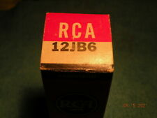 1 X 12Jb6 Beam Power Output Pentode Tube, Tv-7D/U Tested, Ham Radio, Techs